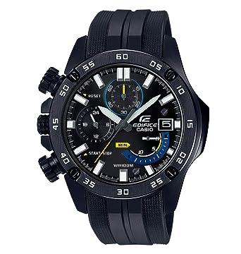 Casio Reloj Cronógrafo para Hombre de Cuarzo con Correa en Plástico EFR-558BP-1AVUEF: Amazon.es: Relojes