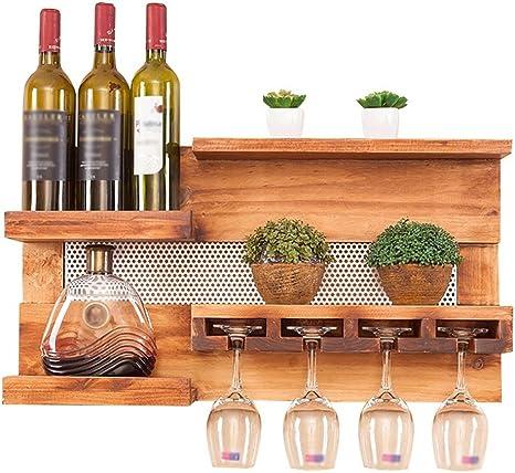 ZXPzZ Porta Bottiglie da Vino Portabottiglie A Parete