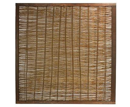 Bambus Discount Com Weidenzaun Gunstig London Eco Modell 120 X 120cm Sichtschutzzaune Sichtschutzmatten