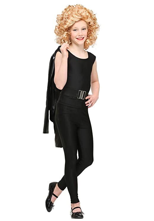 60s 70s Kids Costumes & Clothing Girls & Boys Child Grease Bad Sandy Costume $34.99 AT vintagedancer.com