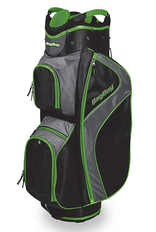 Bag Boy BagBoy C-500 Carro Bolsa, Color Negro y Verde ...