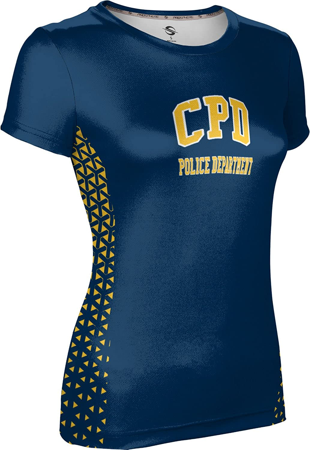 ProSphere Women's Columbus Police Department Gov-Fire-Police Geometric Tech Tee