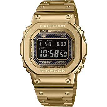 579e3b68a Casio G-Shock Limited Edition Mens Digital Gold IP Plated Stainless Steel  Band Watch GMW