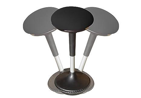 Songmics sgabello da lavoro in piedi sedia per seduta attiva
