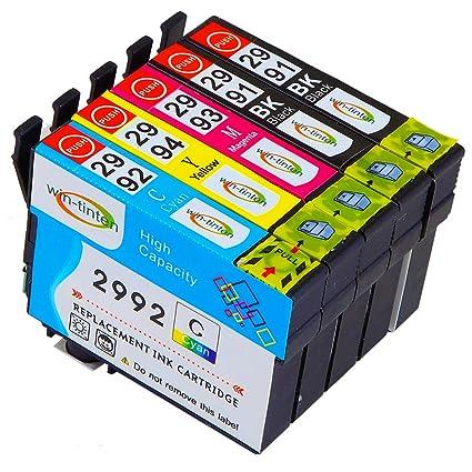 Win-TinTen T29XL Cartucho de Tinta Compatible para Epson ...