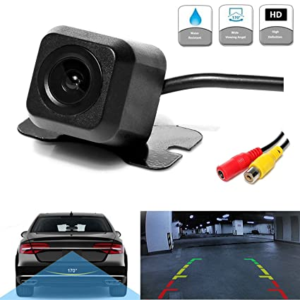 Car & Truck Parts 170° Hd Waterproof Car Rear View Camera Parking Reverse Backup Night Vision 12v