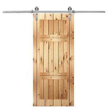 Amazon Mophorn 6ft Steel Sliding Door Modern Sliding Door