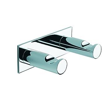 Cherry:Bath Berry - Colgador de toallas doble (aluminio): Amazon.es: Bricolaje y herramientas