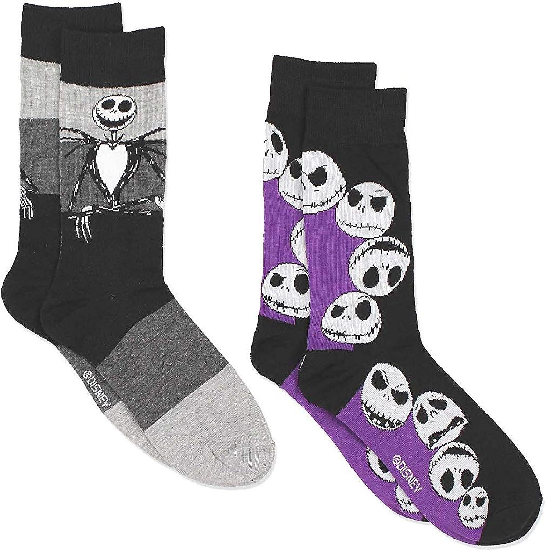 The Nightmare Before Christmas Mens Multi pack Socks (Teen/Adult)