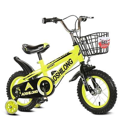 CivilWeaEU- Child Fold Bicycle 3-6-8 ans poussette bébé 12 pouces 14 pouces 16 pouces 18 pouces vélo