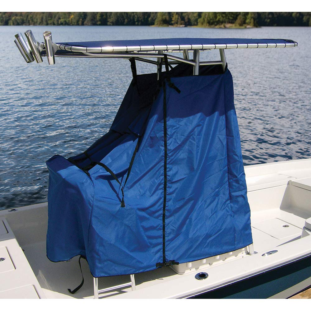 Trailerable Blue 48 x 60 x 66 Inch Taylor Made Products 67852OB Universal T-Top Center Console Cover