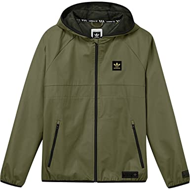 eaf25f7af Amazon.com: adidas Originals Men's Skateboarding Blackbird Wind Jacket:  Clothing