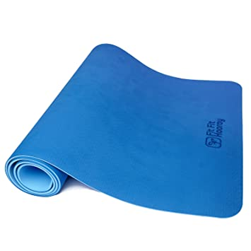 Fit Fit Hooray Reversible de TPE Yoga Mat. Antideslizante ...