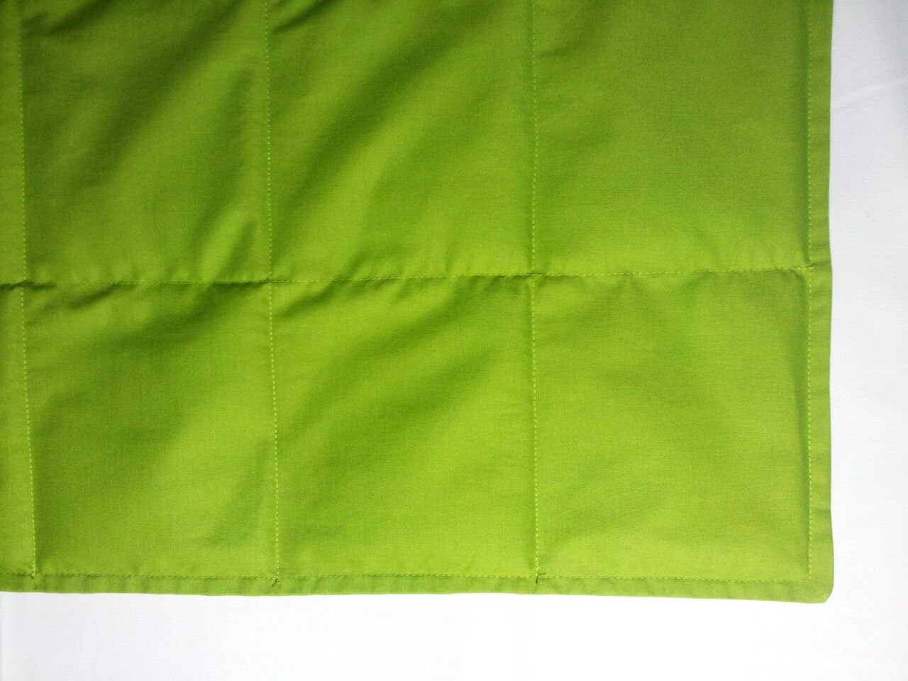 "Peace Weighted Products - Twin Weighted Blanket Lime Cotton 40"" x 70"" (15 Pounds) by Peace Weighted Products"