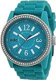 edc by Esprit - A.EE101032004 - Montre Femme - Quartz Analogique - Bracelet Plastique Vert