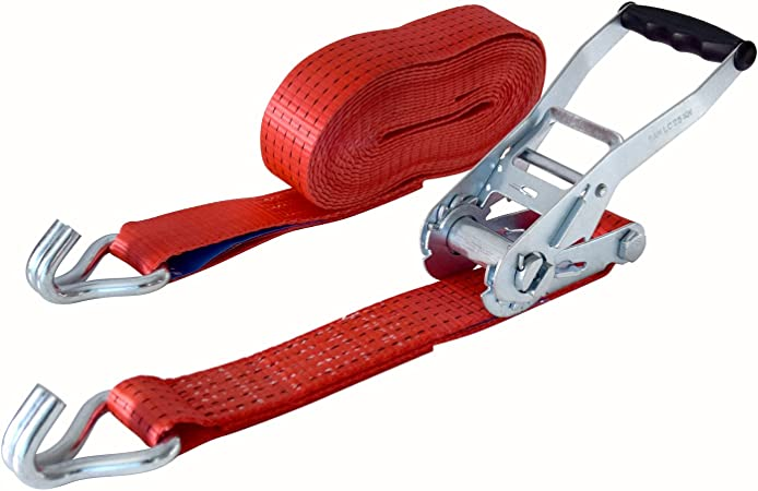 Sangle darrimage 8/m en deux parties avec crochet STF 350 standard 50/mm LC 2500//5000/daN