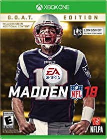 Amazon.com  Madden NFL 18  G.O.A.T. Edition - Xbox One  Madden ... f082f13910a
