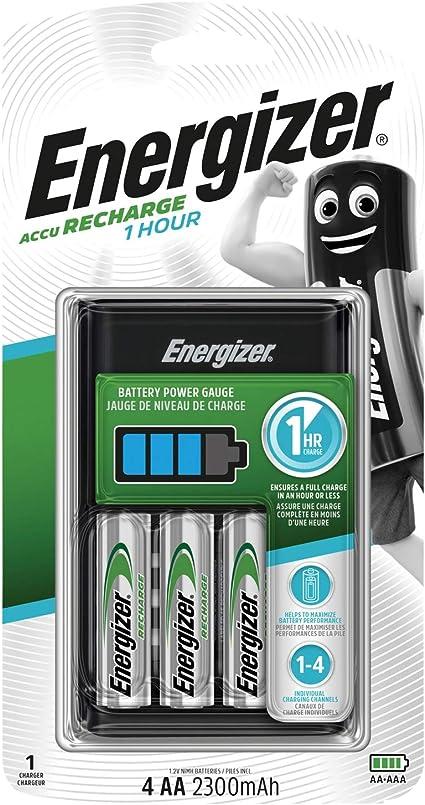 Energizer Ladegerät Für Aa Aaa Batterien 1 Stunde Computer Zubehör