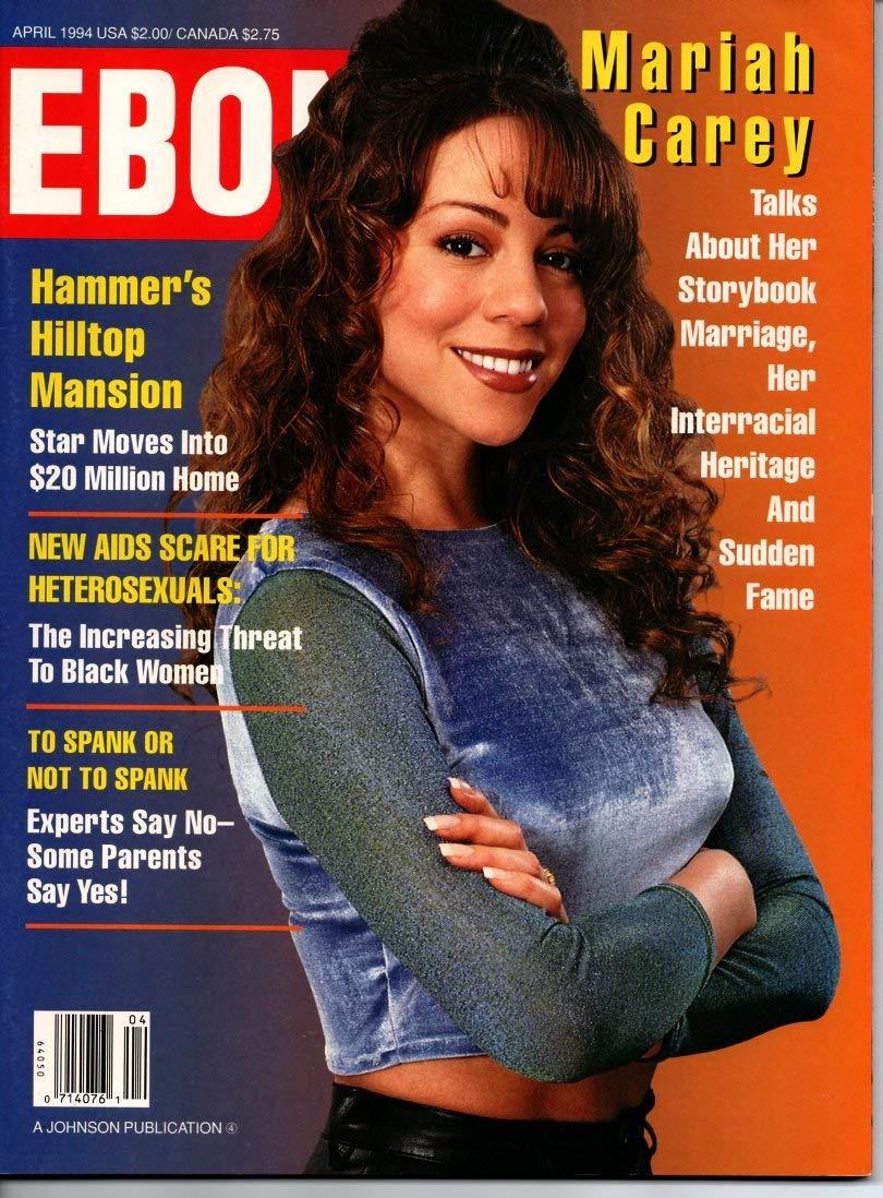 "Ebony Magazine ""Mariah Carey"" April 1994: Amazon.com: Books"