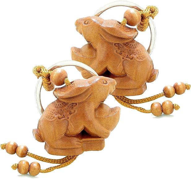 Amazon.com: Amulet Lucky - Juego de llavero con símbolos ...