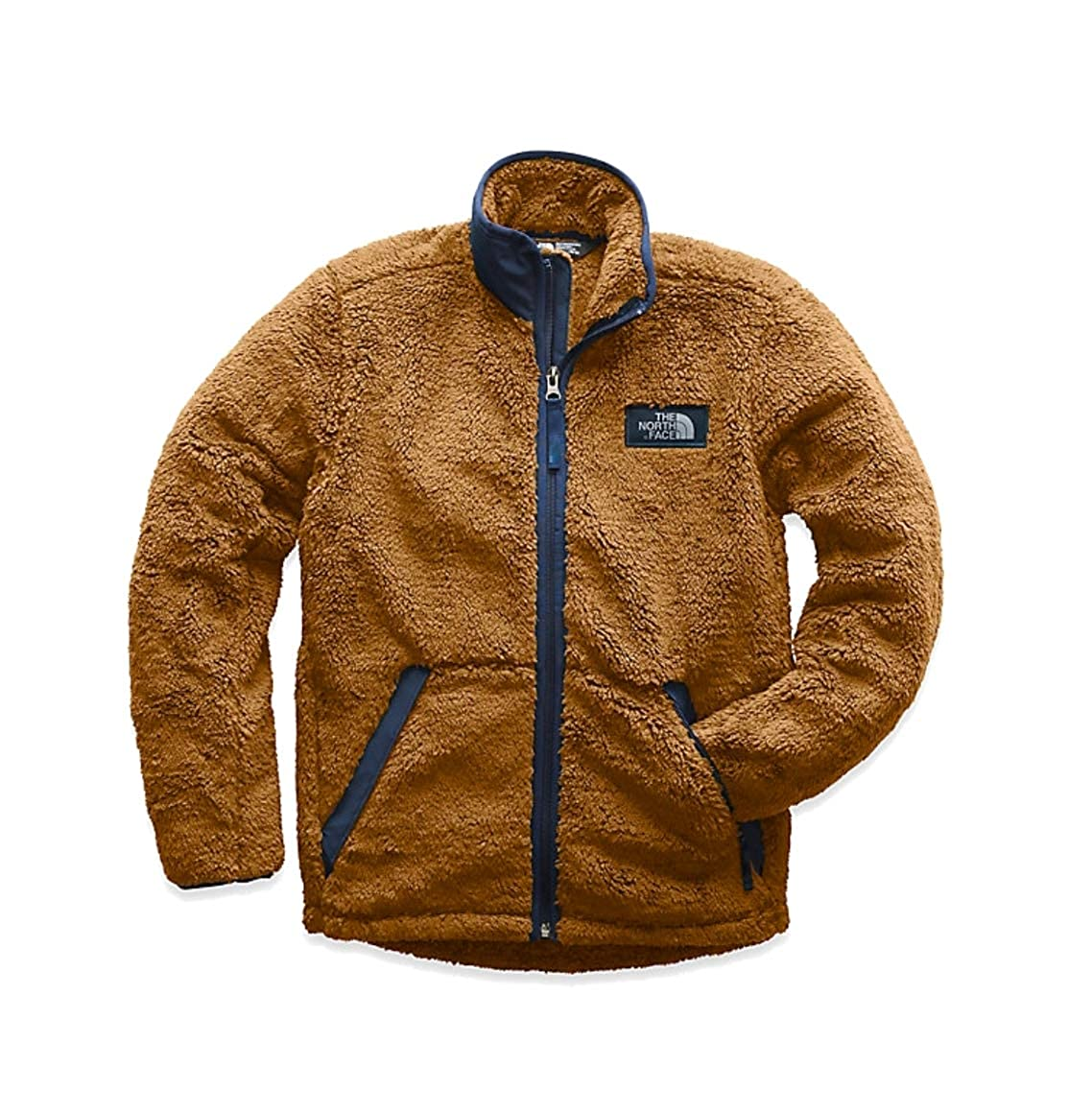 f80a3c4dd Amazon.com: The North Face Boys Campshire Full Zip Golden Brown (18 ...