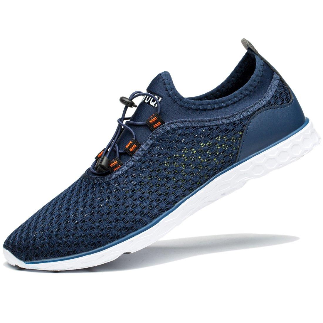 TIANYUQI Men's Mesh Slip On Water Shoes by TIANYUQI (Image #8)