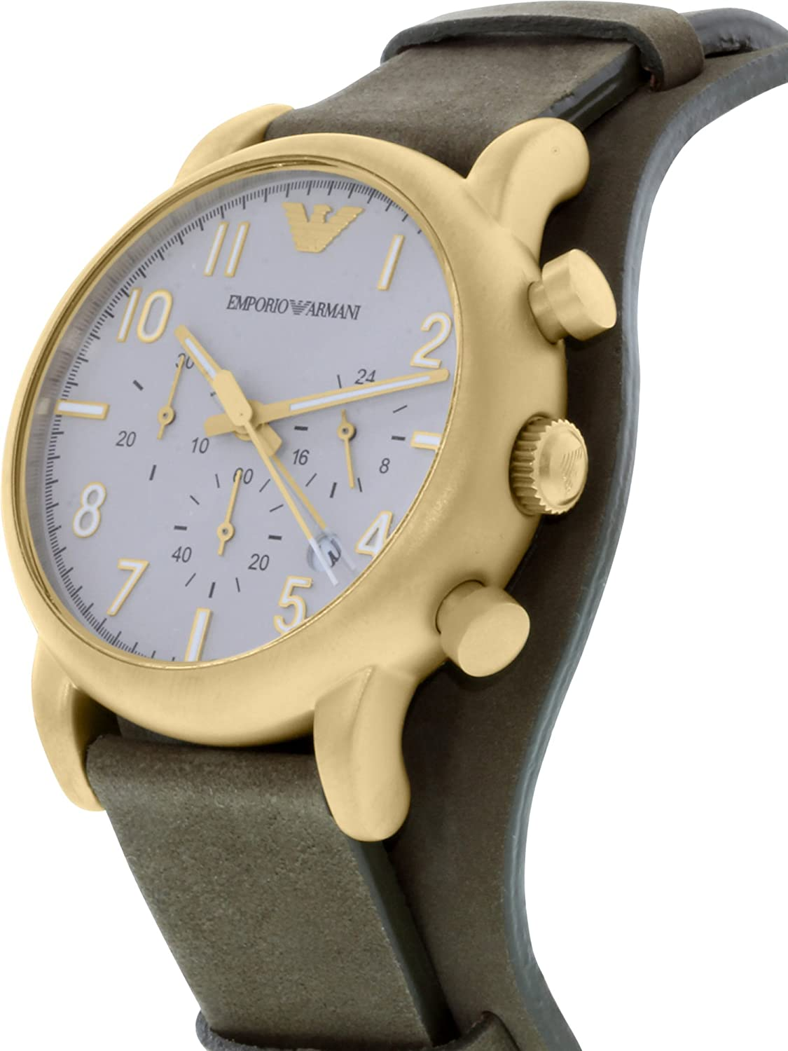ea39e7d2d62 Buy Emporio Armani Luigi Analog Grey Dial Men s Watch-AR1832 Online at Low  Prices in India - Amazon.in