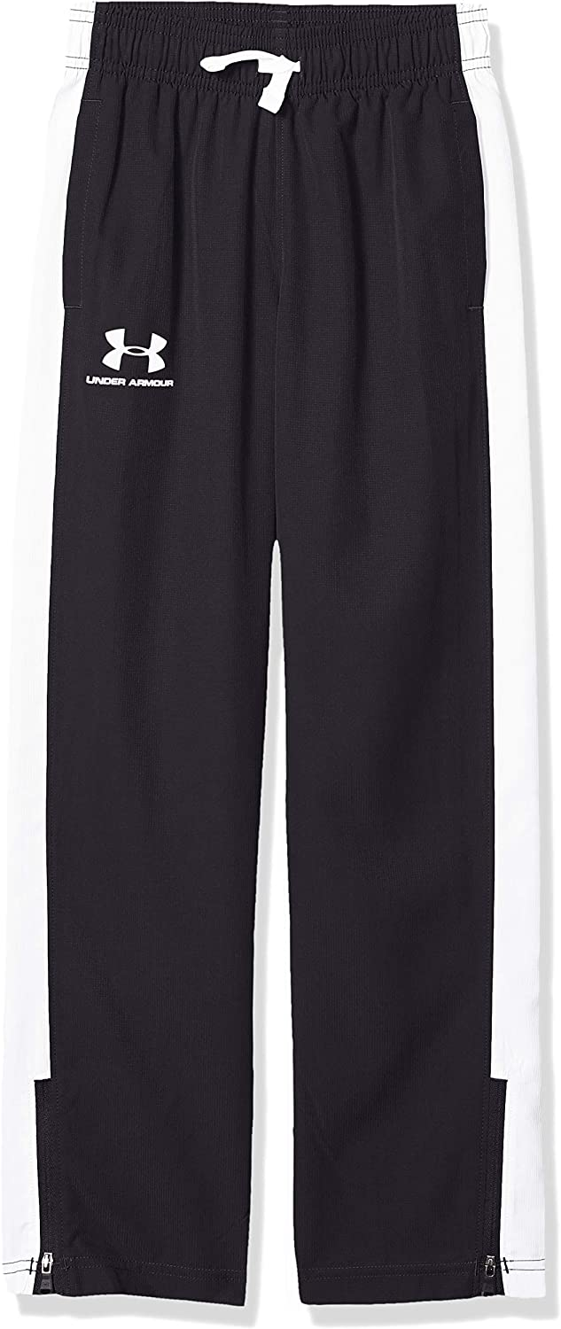 Under Armour Boys' Woven Training Track Pants: Clothing