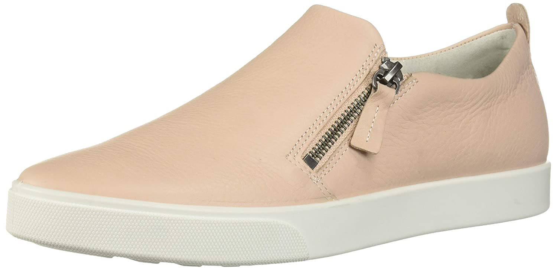 ECCO Womens Gillian Side Zip Sneaker