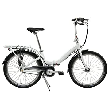"tern Castro P7i - Bicicletas plegables - 24"" marrón/blanco 2016"