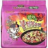 麻辣火鶏炒め麺 マーラーブルダック炒め麺 135gX5袋 韓国食品 ブルダック炒め麺
