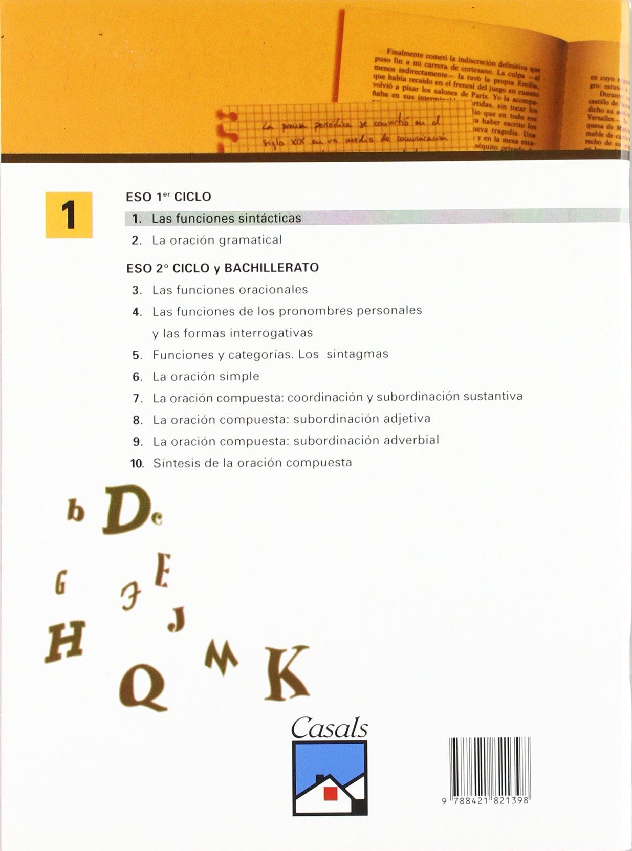 Las funciones sintácticas - 9788421821398: Amazon.es: Pedro Lumbreras García: Libros
