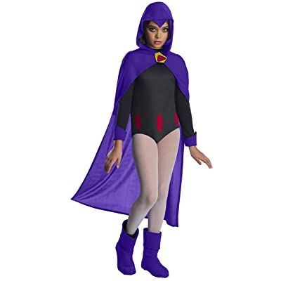 Rubie's Costume Teen Titans Deluxe Raven Child Costume-: Toys & Games