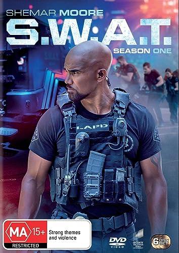 SWAT Season 1 | Shemar Moore | NON-USA Format | PAL | Region 4 Import - Australia