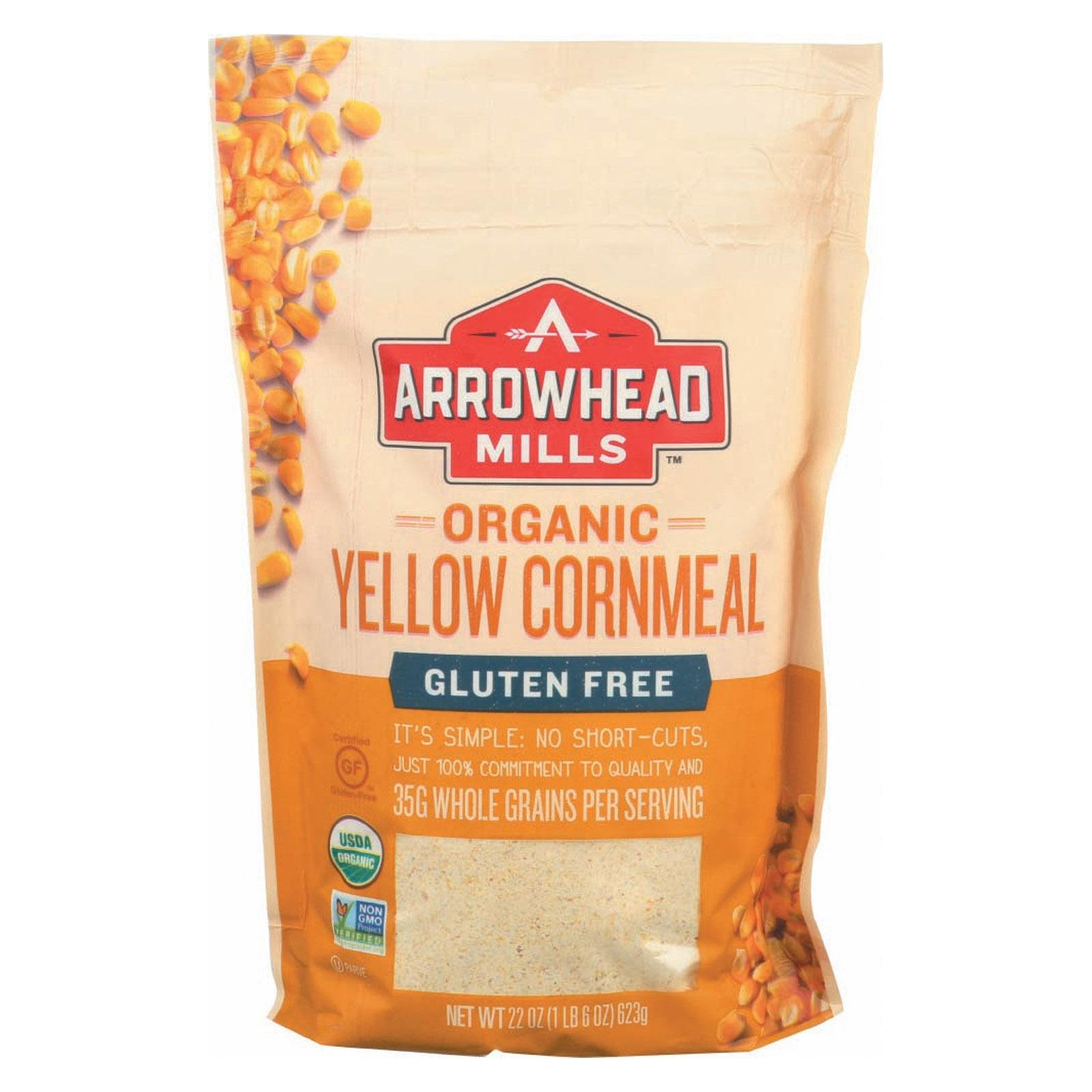 Arrowhead Mills Cornmeal Yellow Org
