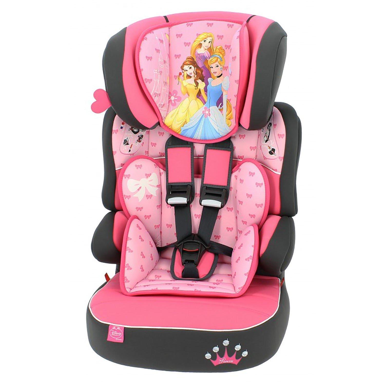 Disney Minnie Nania Beline Group 1//2//3 Highback Booster Car Seat