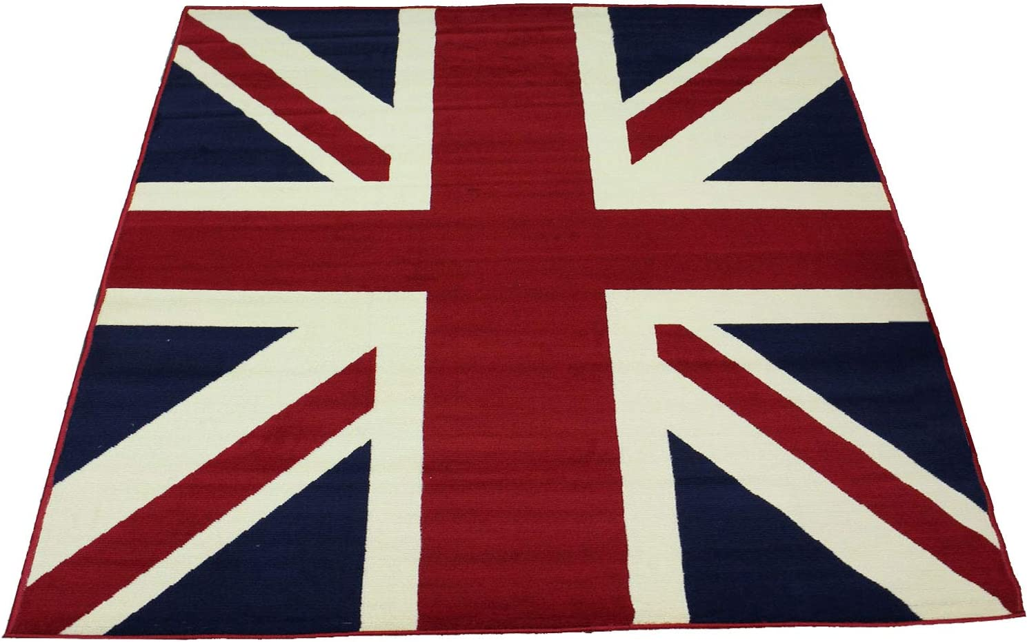 Traditional British Flag (UK Flag Union Jack) Style Carpet Traditional Oriental Area Rug 5ft x 8ft (Approx.) 71-ruWDqN3LSL1500_