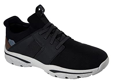 0a9eac4b0e0 Skechers 65587 Men s Creston - Hemet Sneaker  Amazon.co.uk  Shoes   Bags