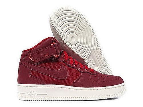 Nike Air Force 1 Mid LV8 (GS), Zapatillas de Baloncesto para