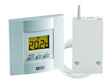 Electraline 59215 Crono-termostato digital avanzado color blanco,