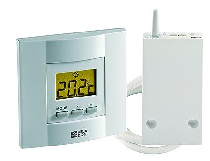 Delta Dore TYBOX 23 6053035 - Termostato de ambiente con teclas vía Radio