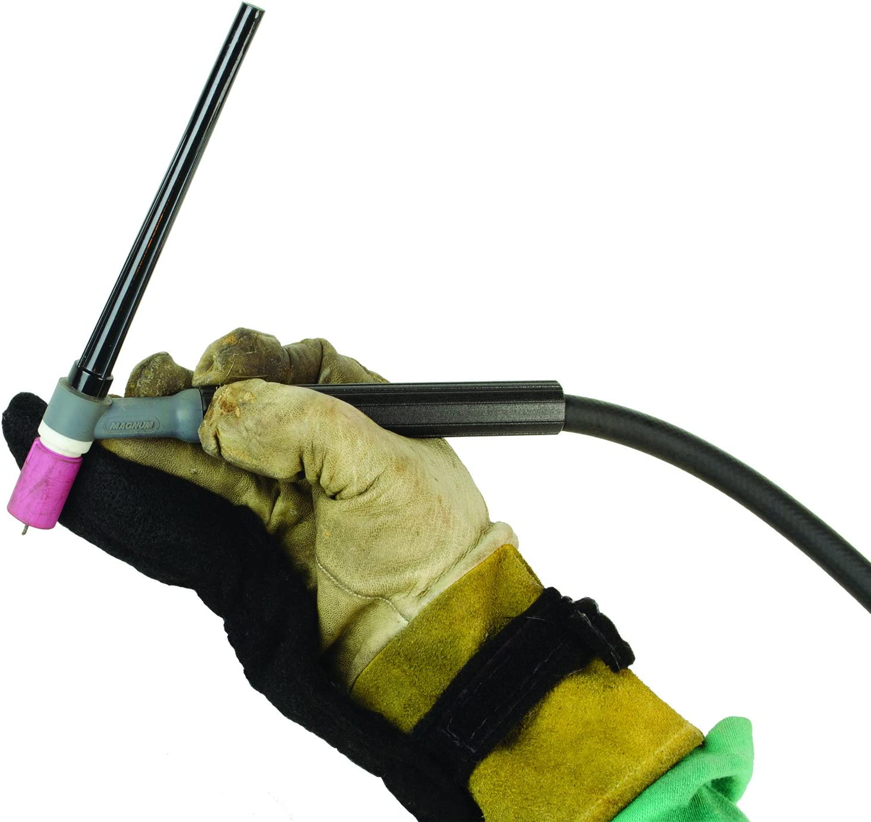 Black Stallion REVCO AT2010-WG Stallion Flak Finger Adjustable Welding Heat Shield Gray