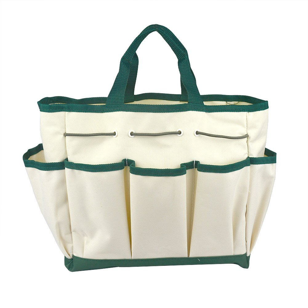Outdoor Multi Pocket Gardening Tool Kit Holder Oxford Bag 4 Side Pouches      Amazon.com
