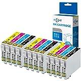 ECSC Compatibile Inchiostro Cartuccia Sostituzione Per Epson XP-235 XP-335 XP-432 XP-442 XP-342 XP-245 XP-435 XP-332 XP-247 XP-445 XP-345 T2996 (Nero/Ciano/Magenta/Giallo, 12-Pack)