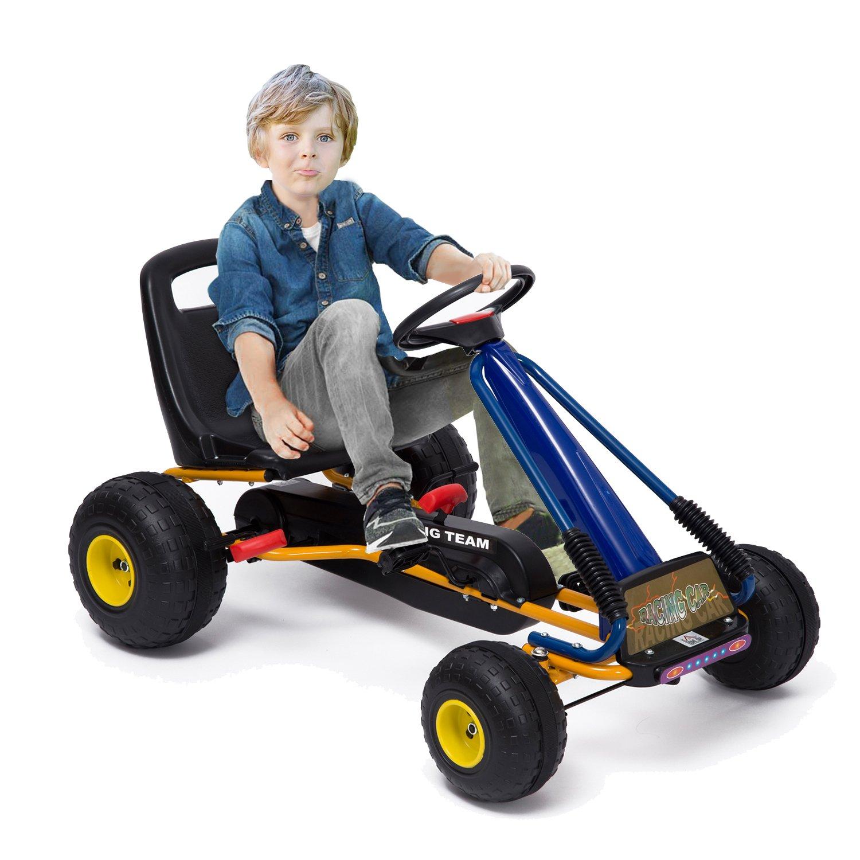 Go-Kart con Pedales y Ruedas Coches Niños a Pedales Aprovado por ...