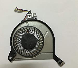 SYW·pcparts Replacement Fan Compatible HP Pavilion 14-V 15-K 15-V 15-P TPN-Q139 TPN-Q140 Series CPU Cooling Fan 4-Pin DC5V