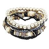 Amazon Price History for:Susenstone®1 Set 7Pcs Boho Wholesale Multilayer Acrylic Beads Beach Bracelet