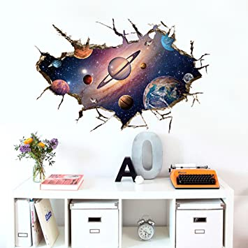 Wy Wall Sticker Wohnzimmer Schlafzimmer Wandaufkleber Abnehmbare