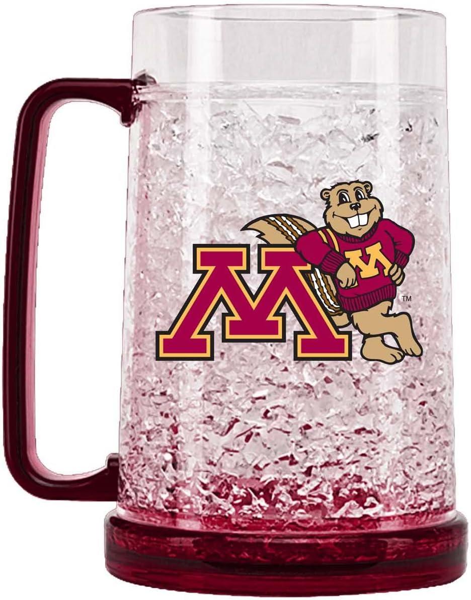 NCAA Minnesota Golden Gophers 16oz Crystal Freezer Mug