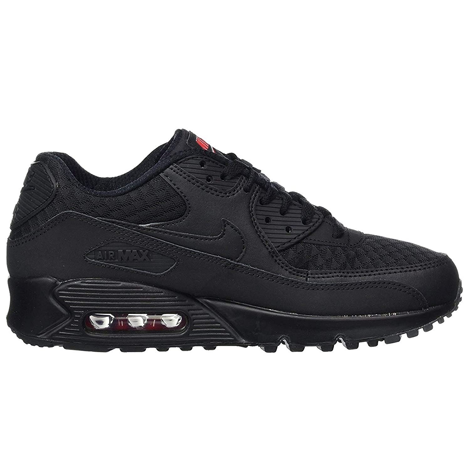 3c4d6a1f7f Nike Mens Air Max 90 Essential - Black, 6.5 UK (40.5 EU): Amazon.co.uk:  Shoes & Bags